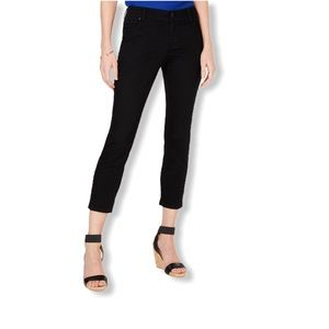 INC Curvy-Fit Cropped Skinny Jeans